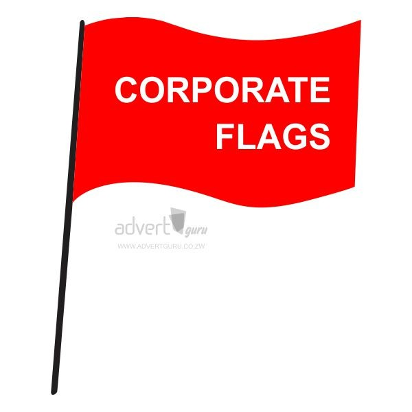 corporate flags in Harare Zimbabwe