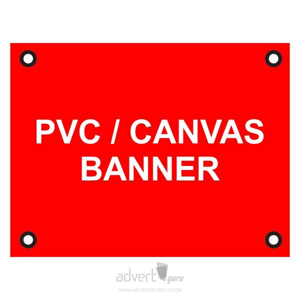 pvc & canvas banners in Harare Zimbabwe